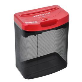 Swordfish 800XC Cross Cut Shredder Red and Black