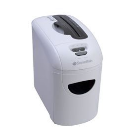 SWORDFISH 800XC SECURIA Cross Cut Shredder White