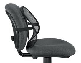 Fellowes 8036501 Classic Mesh Back Support