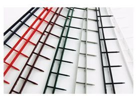 GBC 9741635 Black A4 Velobind Strips
