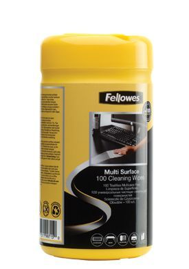 Fellowes 9971518 Surface Cleaning Wipes