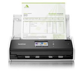 Brother ADS-1600W Compact High Speed Desktop Document Scanner