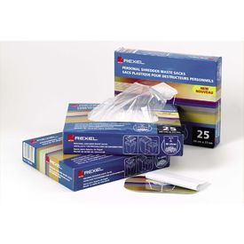 Rexel 40095 175 Litre Wide Entry Shredder Waste Sacks Pk of 100