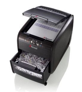 Rexel Autoplus 80X Cross Cut Shredder A GRADE