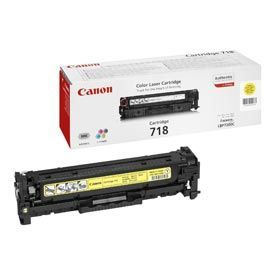 Canon 718 Yellow Toner Cartridge 2.9K