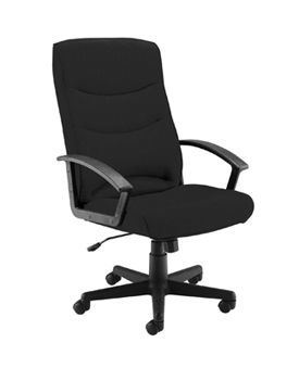 Canasta II Fabric Chair Charcoal