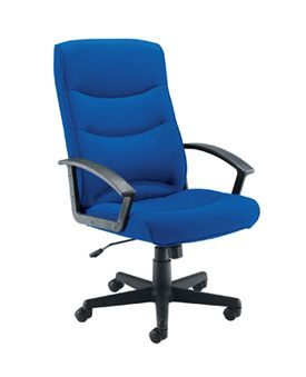 Canasta II Fabric Chair Royal Blue