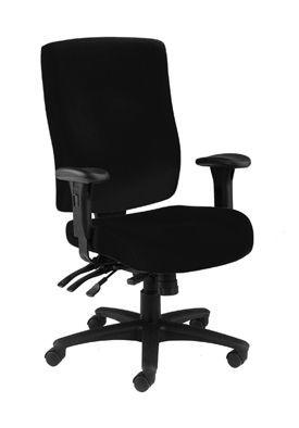 Marathon Fabric Chair Black