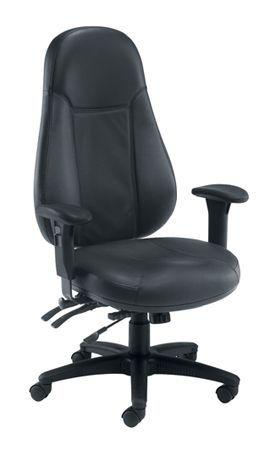 Cheetah Leather Chair