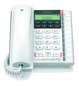 BT Converse 2300 Telephone White