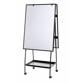 Bi-Office Creation Station Magnetic Mobile Easel