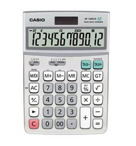 Casio DF-120ECO Desk Calculator