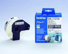 Brother DK11218 Round Labels