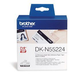 Brother DKN55224 Non Adhesive Paper Roll