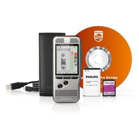 Philips DPM7800 Digital Pocket Memo Int with SpeechExec Pro Dictate Software