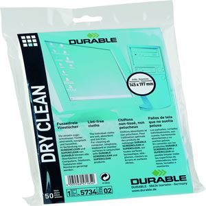 Durable Dry Clean Wipes