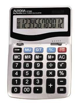 Aurora DT303 Desk Calculator