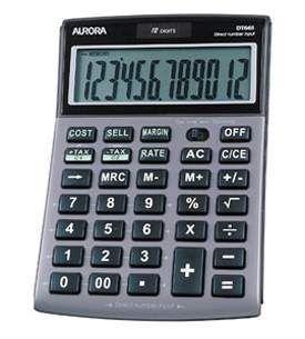 Aurora DT661 Desk Calculator