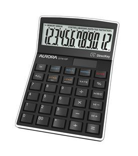 Aurora DT910P Desk Calculator