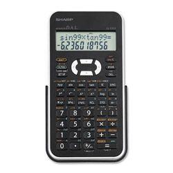 Sharp EL531XBWH Scientific Calculator White