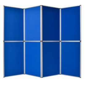 Bi-Office 1020x750x165mm 8 panel Gallery Exhibition System