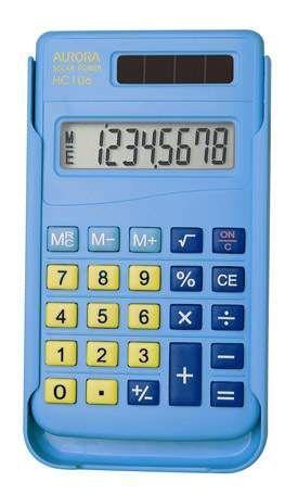 Aurora HC106 Handheld Calculator