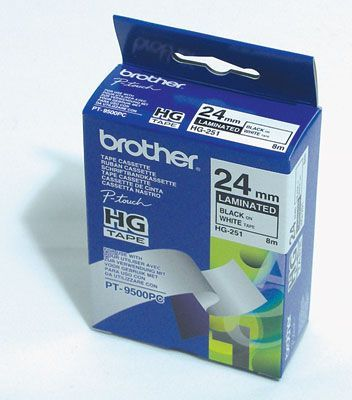 Brother HG251 Black on White