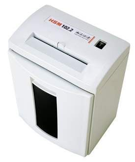 HSM 102.2S 3.9mm Strip Cut Shredder