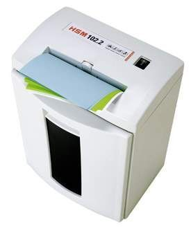 HSM 102.2S 5.8mm Strip Cut Shredder