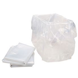 HSM Clear Shredder Bags 100pk