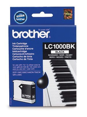 Brother LC1000BK Black Cartridge