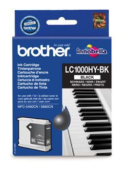 Brother LC1000HYBK Black Cartridge