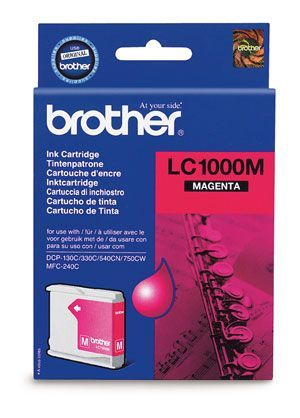 Brother LC1000M Magenta Cartridge