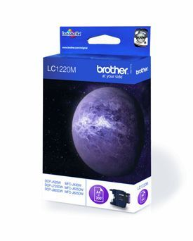 Brother LC1220M Magenta Cartridge