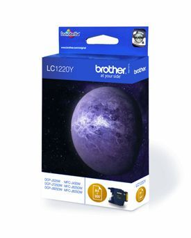 Brother LC1220Y Yellow Cartridge