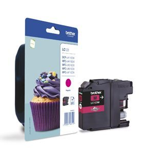 Brother LC123M Magenta Cartridge