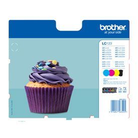 Brother LC123 Value Pack B-C-M-Y