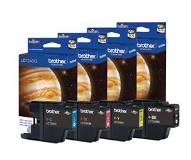 Brother LC1240 Value Pack