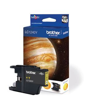 Brother LC1240Y Yellow Cartridge