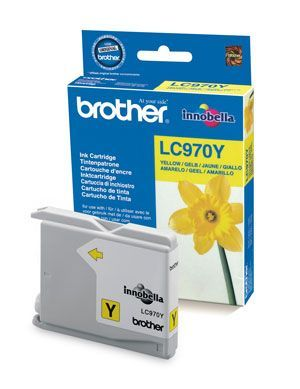 Brother LC970Y Yellow Cartridge