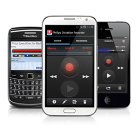 Philips LFH0756 SpeechExec Dictation Hub Blackberry 10 1 year License