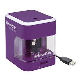 Swordfish VariPoint Mini Dual Power Pencil Sharpener