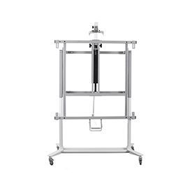 Bi-Bright Evolution Plus Mobile Stand up and down with Pi Plate - Black