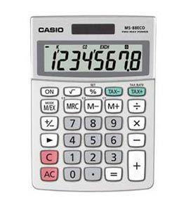 Casio MS-88ECO Mini Desk Calculator