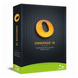 Nuance OmniPage 18.0 English Brown Bag