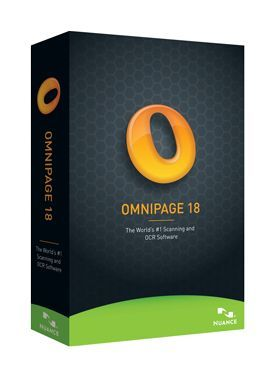 Nuance OmniPage 18.0 International English, Educational Version OVL