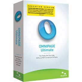 Nuance OmniPage Ultimate 19.0 International English Educational OVL
