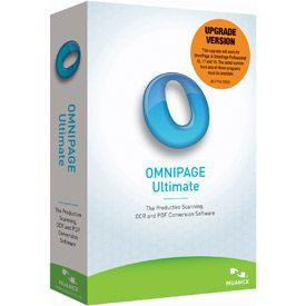 Nuance OmniPage Ultimate 19.0 International English Upgrade