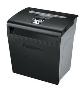 Fellowes P-48C Black Cross Cut Shredder