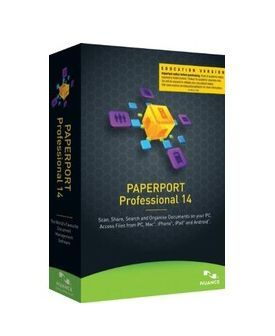 Nuance PaperPort 14.0 Professional International English Educational OVL